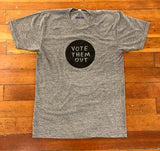 Vote Them Out by Tucker Nichols Womens Tee