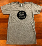 Vote Him Away by Tucker Nichols Mens Tee