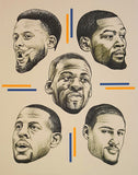 Warriors Print by Ian Johnson