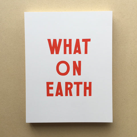 Caitlyn Galloway Print 'What On Earth""