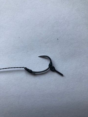 Pack Of 10 German Rigs With bait screw