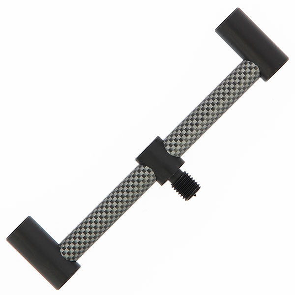 2x 13Cm Carbon Effect Aluminium 2 Rod Buzz Bars