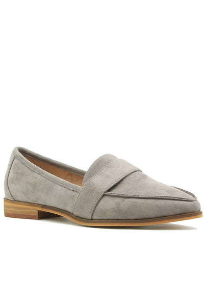 Suede Loafer Flats - Lika Love