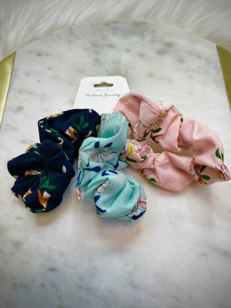Floral Scrunchies - Lika Love