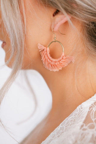 True tassel ring earrings