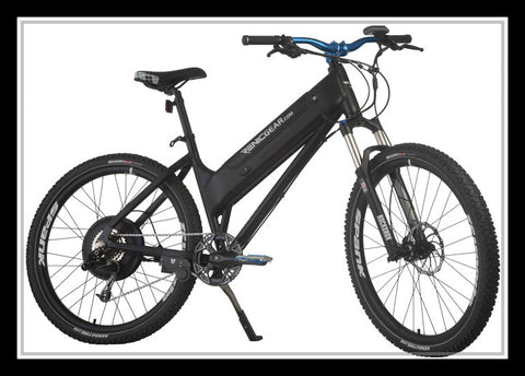 Renic Electric Bike, rockshox, 750 Watt, pedal assist