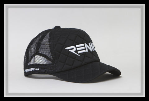 Snap Back Adjustable one size fits all Diamond Tuck Trucker Hat