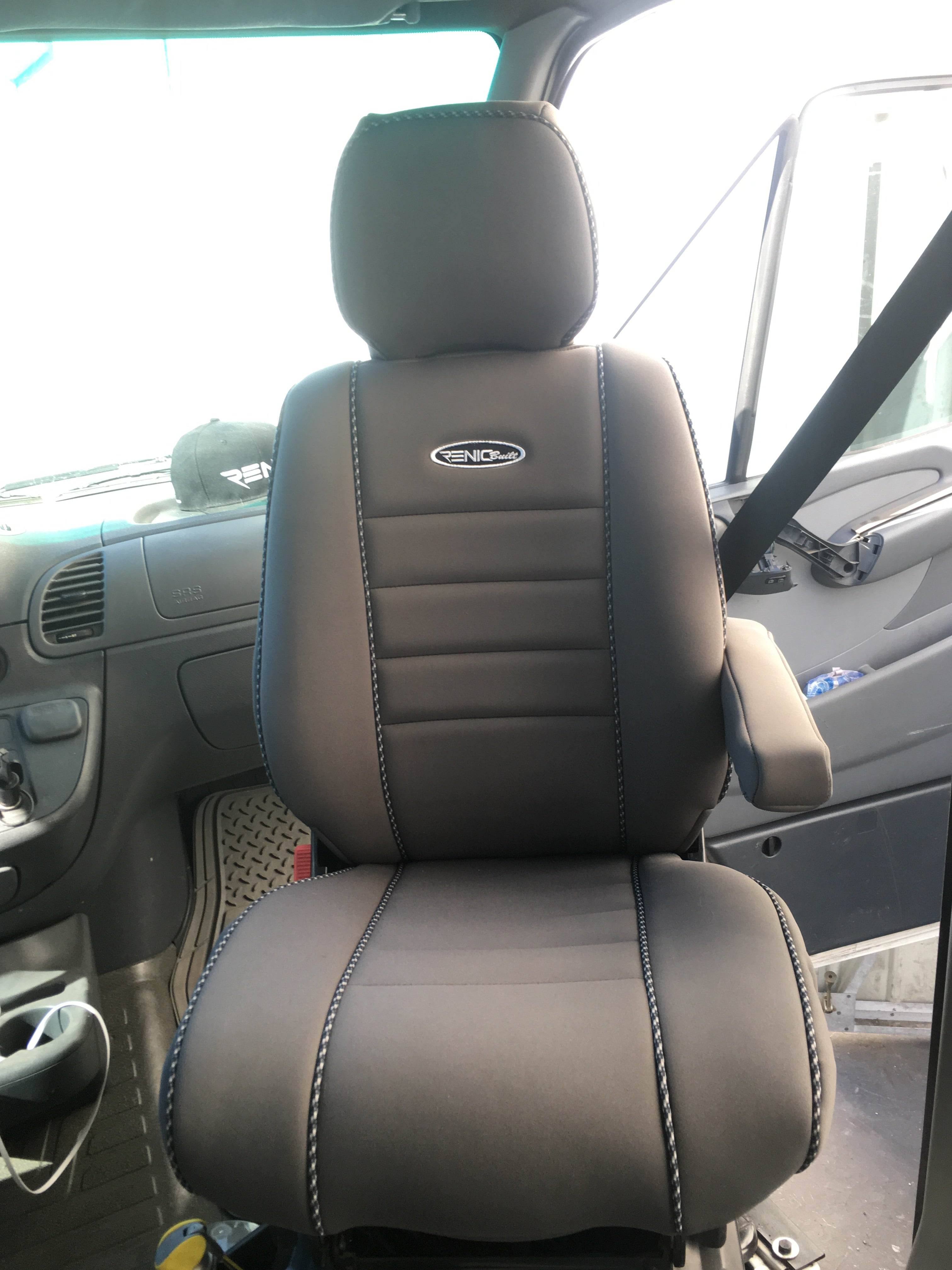 Dodge, Freightliner, Mercedes Sprinter or Ford transit neoprene seat covers