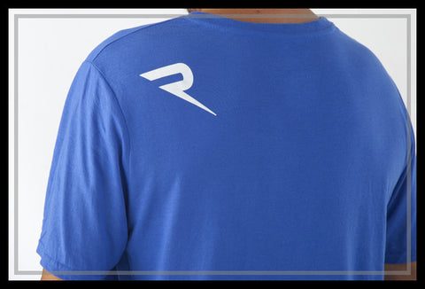 Renic Performance T-shirt Mens back Royal Blue