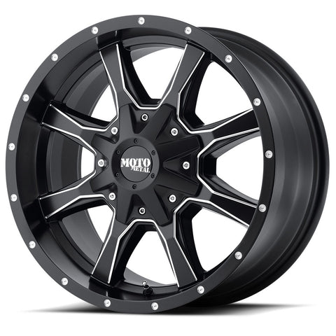 Moto Metal Black MO970 Wheels