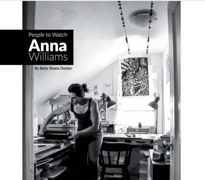 Anna Williams dans le magazine Luxe