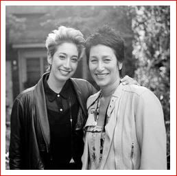 Double portrait of Janis Kerman and Erin Wahed