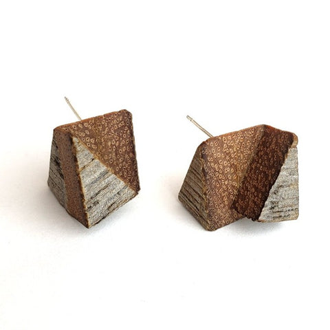 "Garden Wood Studs   Recycled red oak, sterling, 0.5"", 2020."