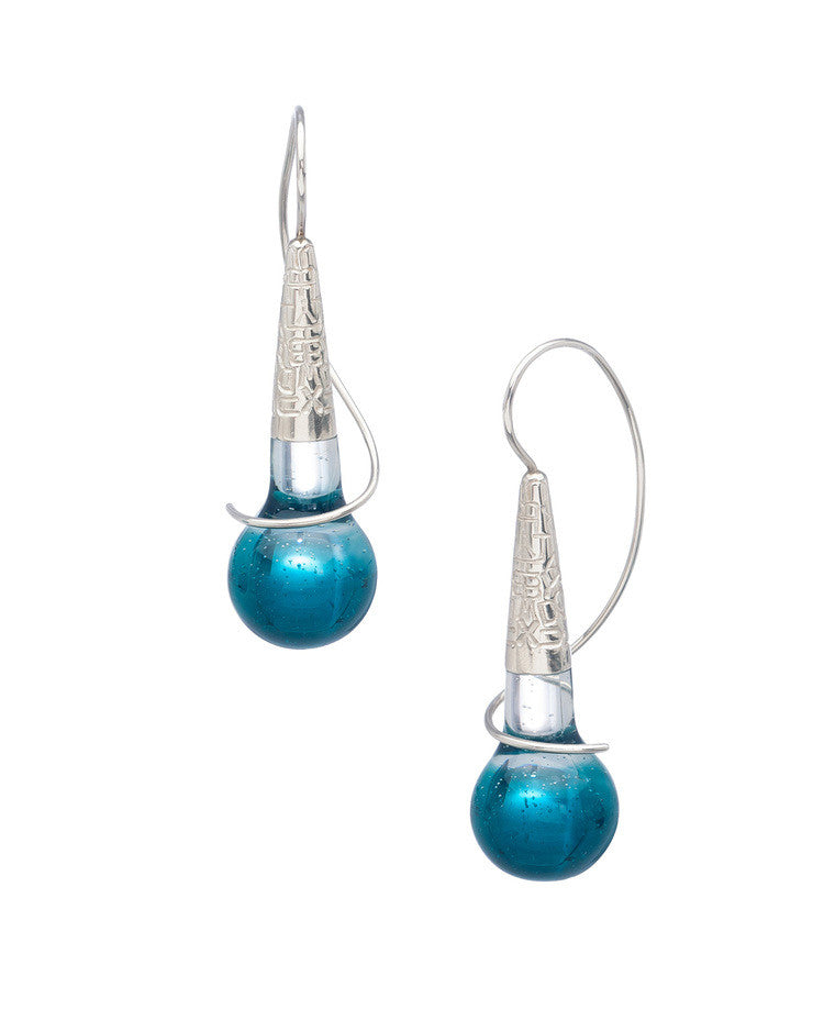 Teal Tone earrings