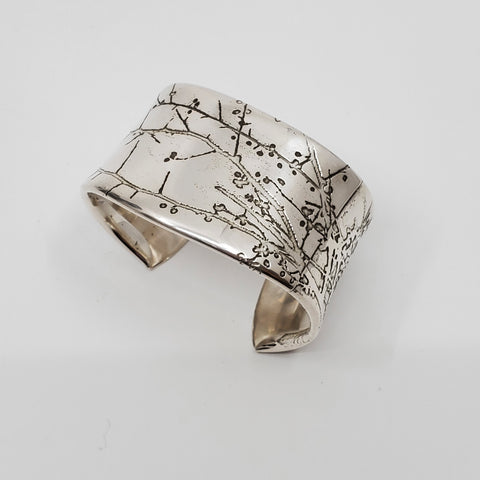 Branch cuff by Sandra Goss