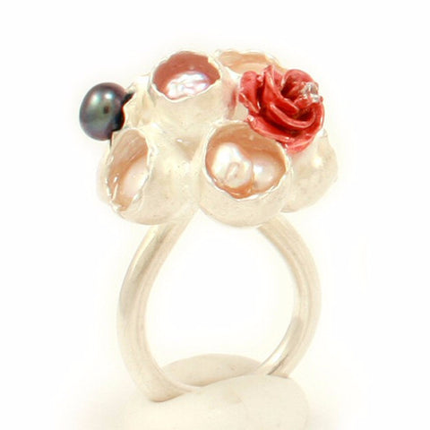 Bouquet Ring by Annie Tung