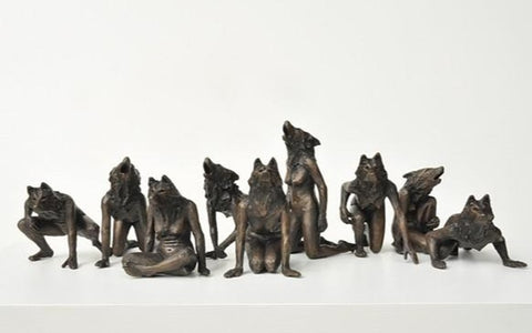Anna Williams' Pack I collection of she-wolves