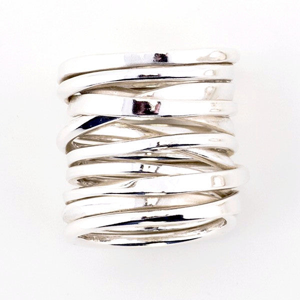 Twofooter Ring by Dorothee Rosen