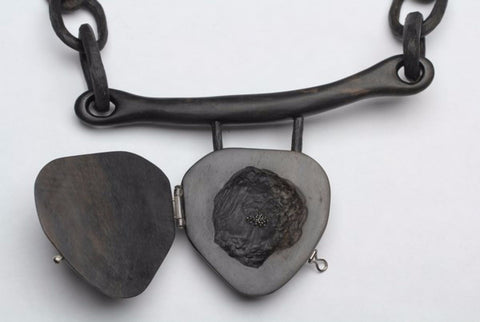 Heavy Heart Necklace by Fei Su
