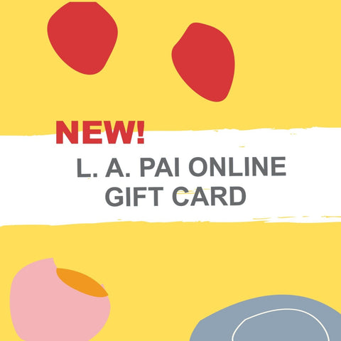 L. A. PAI GALLERY GIFT CARD
