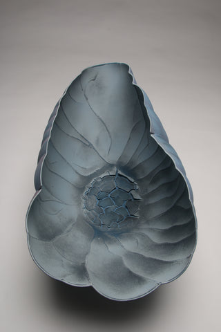 Paula Murray's Blue Canyon vessel from above.