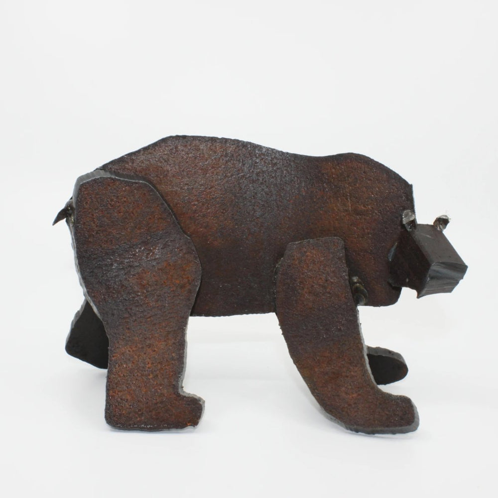 Bear sculpture by Mustapha Chadid