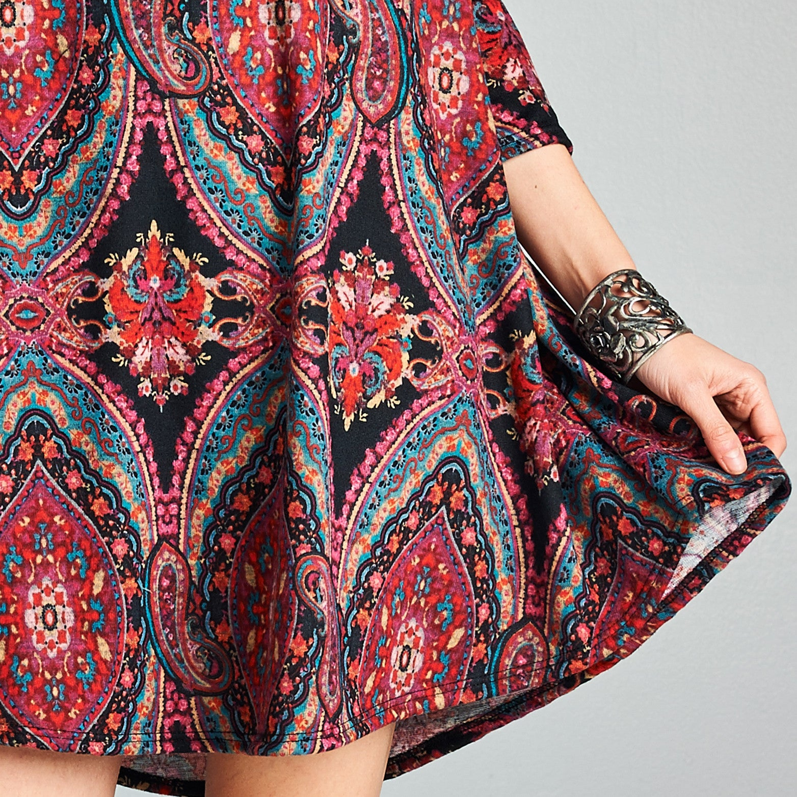 Mandala Swing Dress