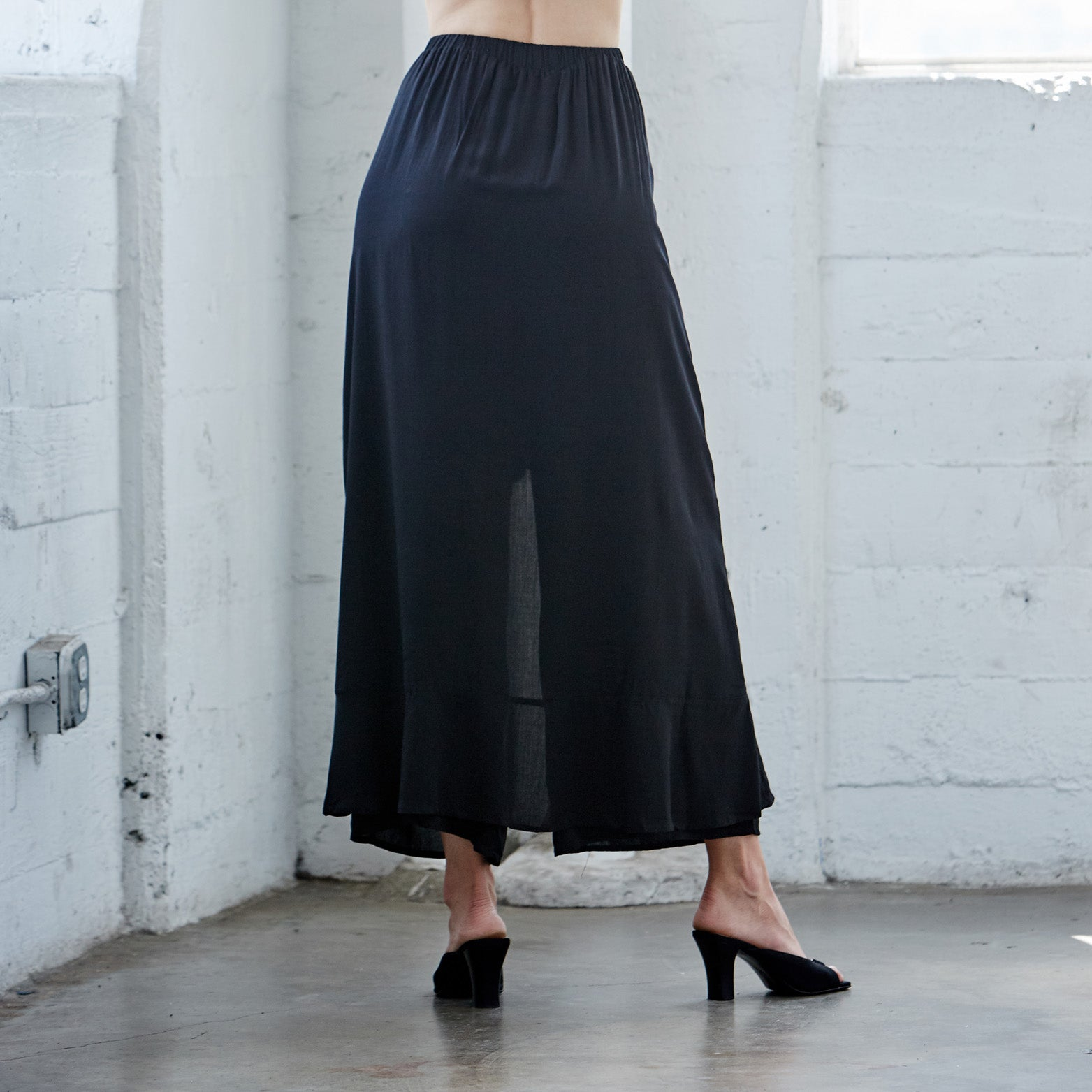 Ruffle Me Softly Skirt Pants - Love, Kuza