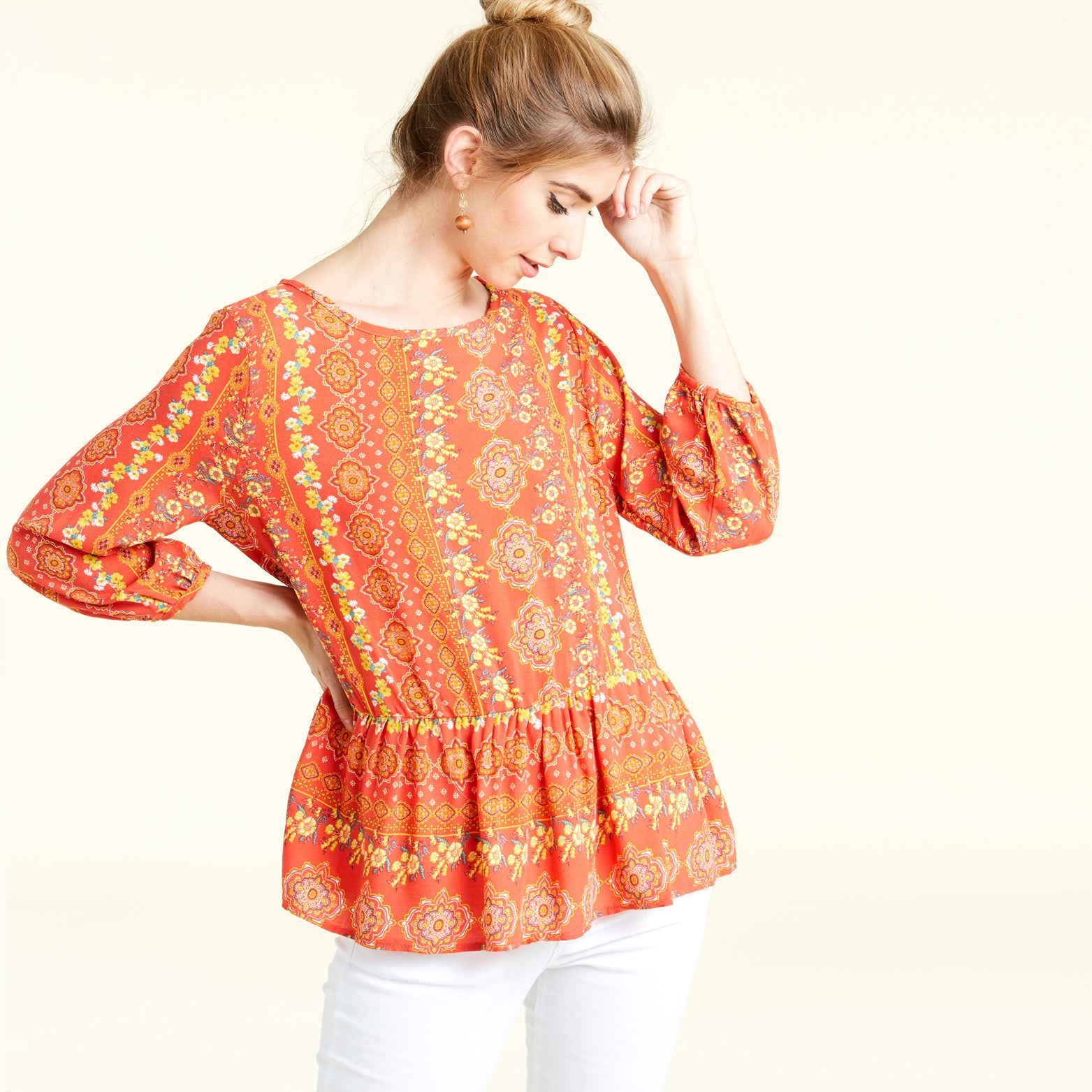 Challie Boho Blouse