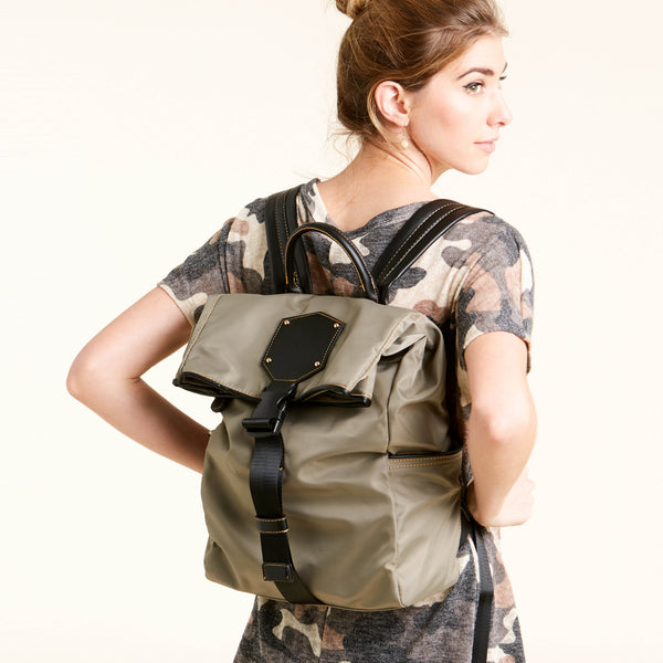 Carry-All Nylon Backpack