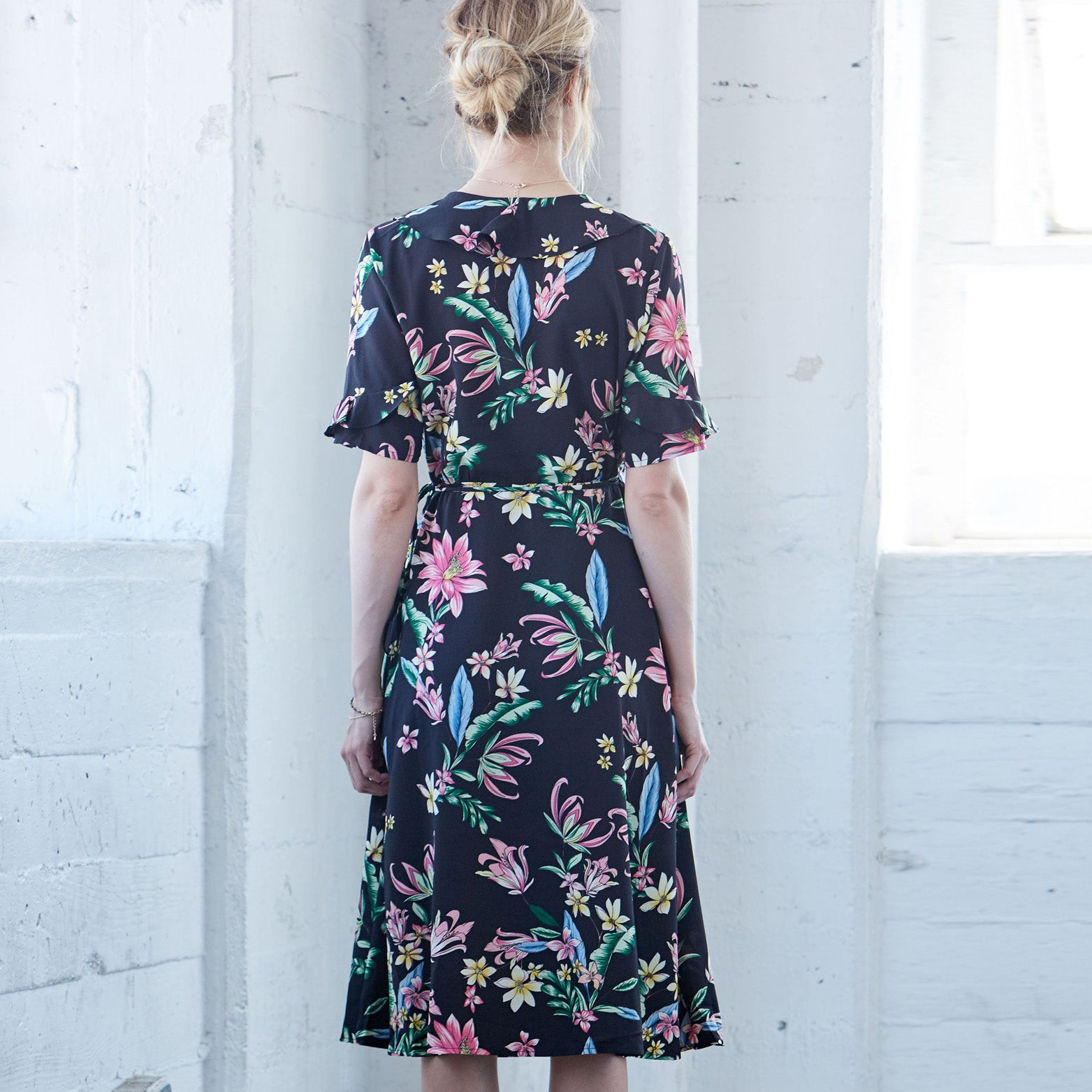 Floral Experience Midi Dress