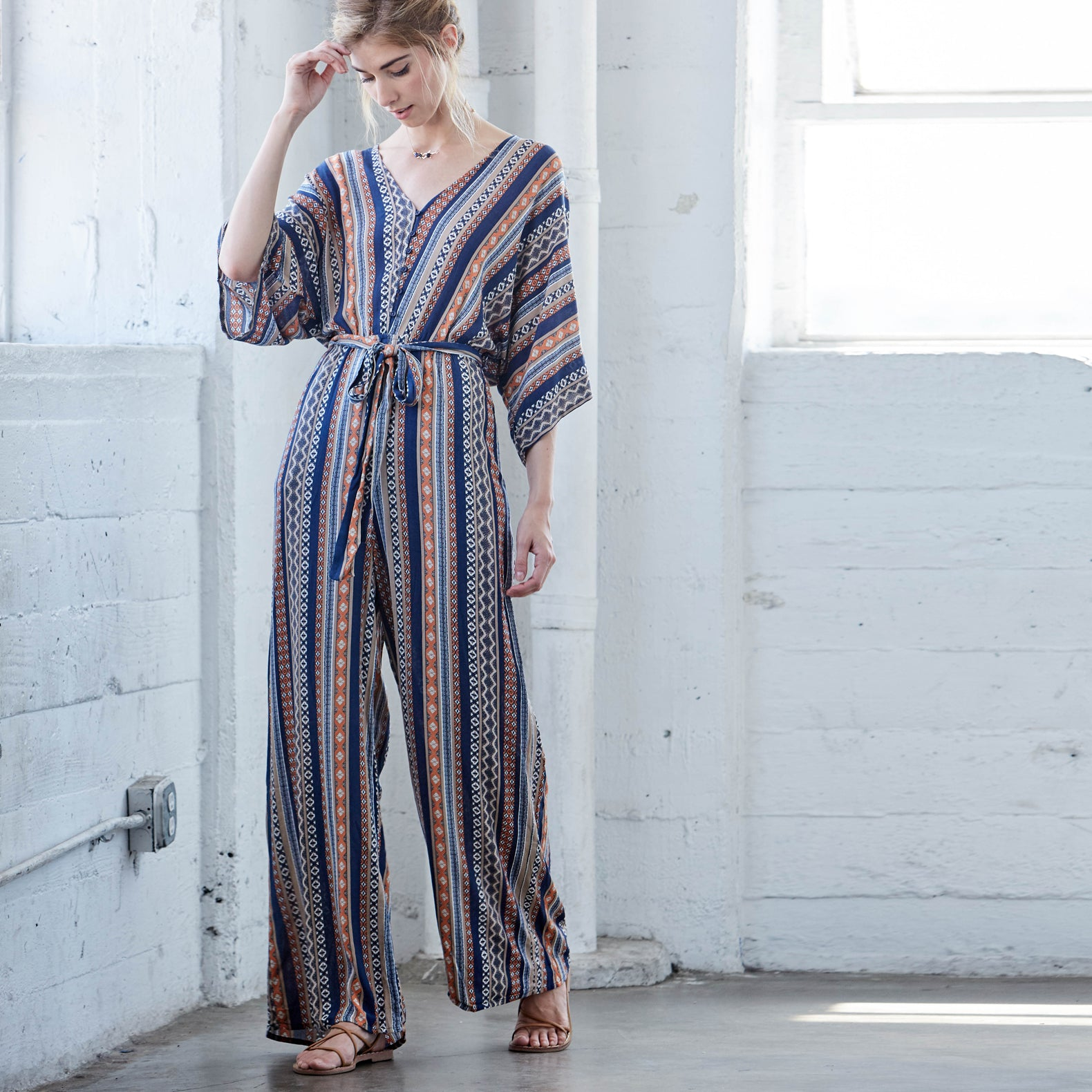 Tribal Escape Jumpsuit - Love, Kuza