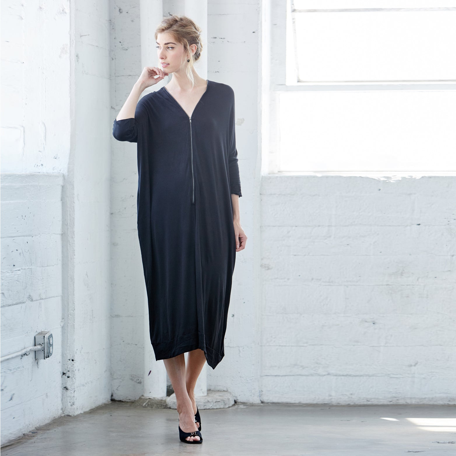 Connection Midi Dress - Love, Kuza