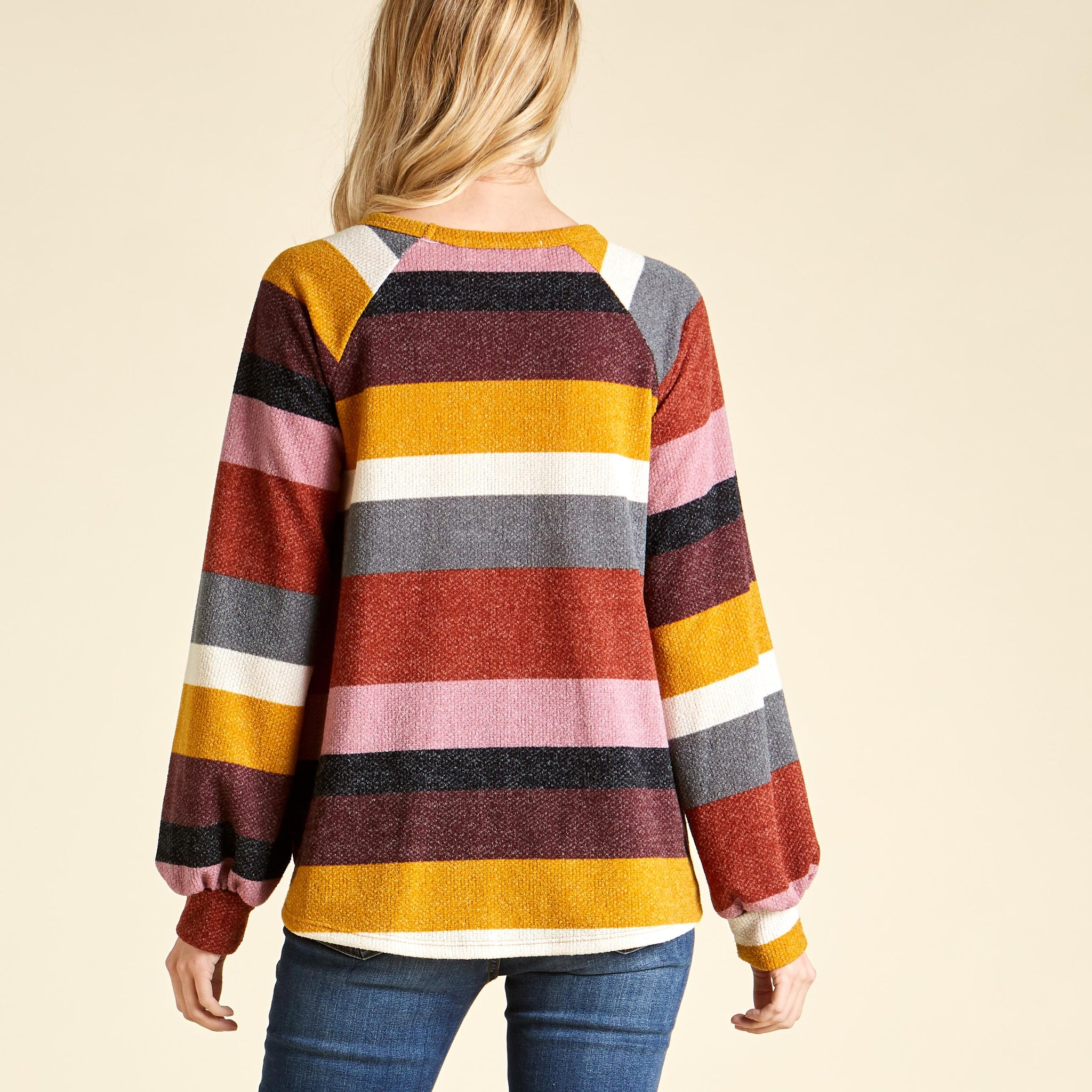 Retrobow Bishop Sleeve Sweater