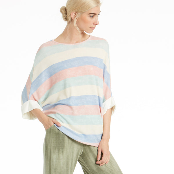Gradient Skies Loose Fit Top