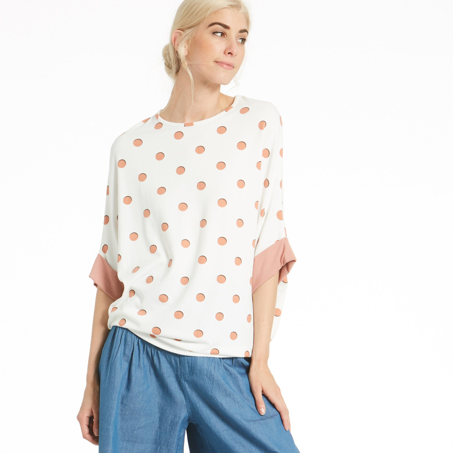 Polka Dot Posie Top - Love, Kuza