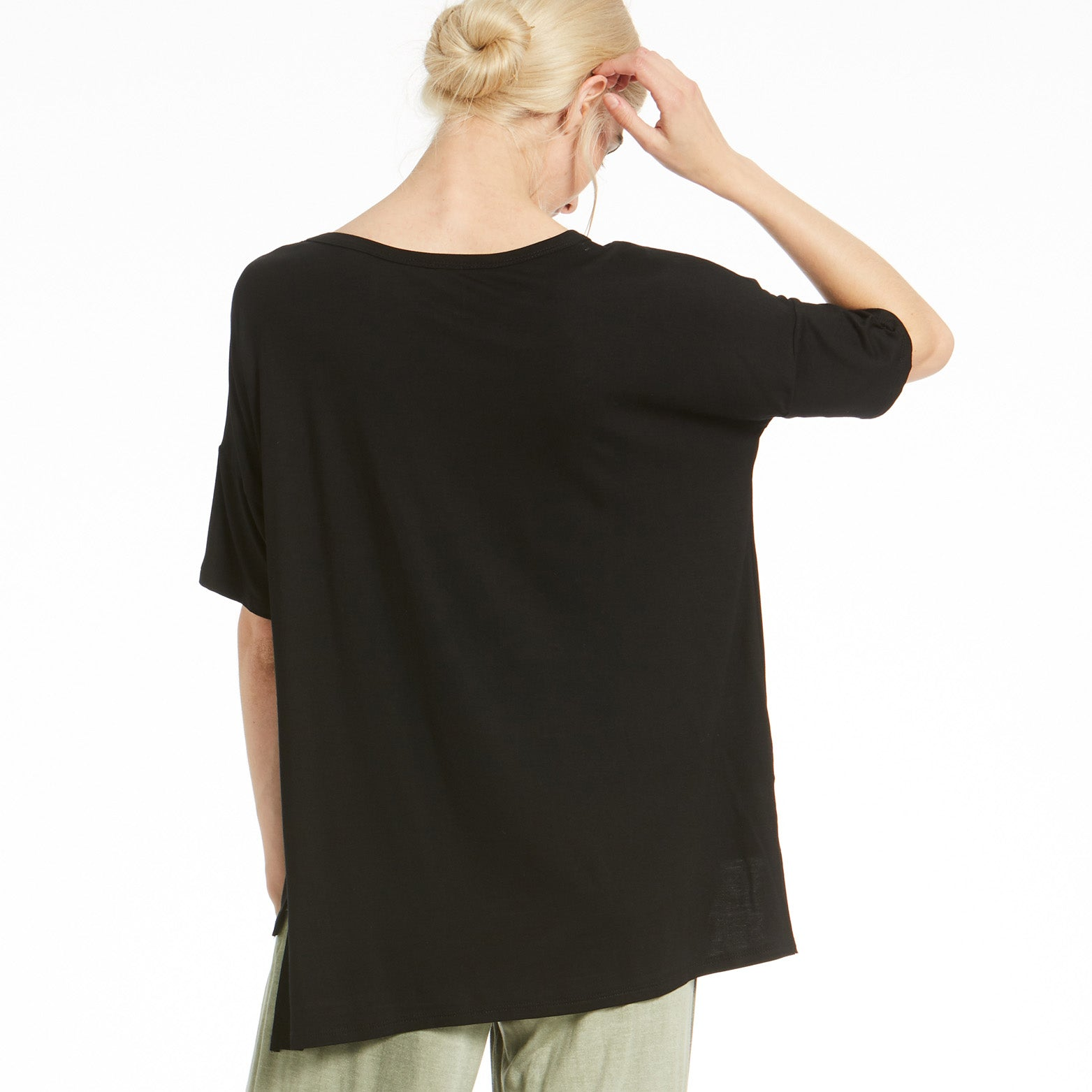Comfy Desiree Oversize Top - Love, Kuza