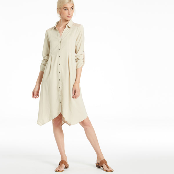 Military Goddess Shirt Dress - Love, Kuza