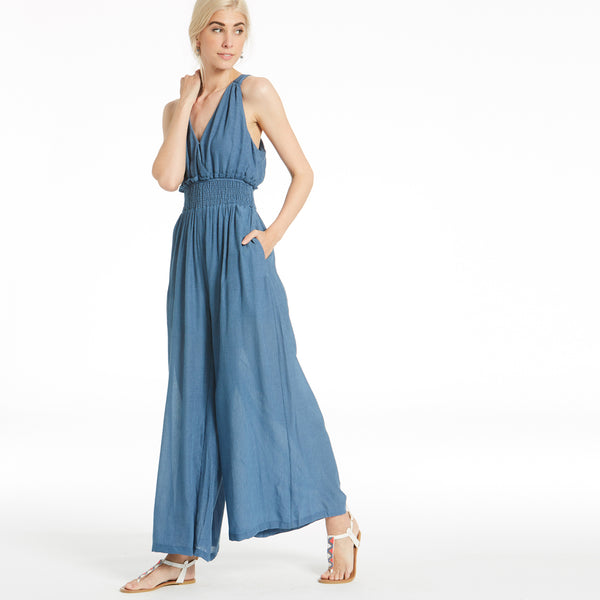 Blue Ocean Breeze Jumpsuit