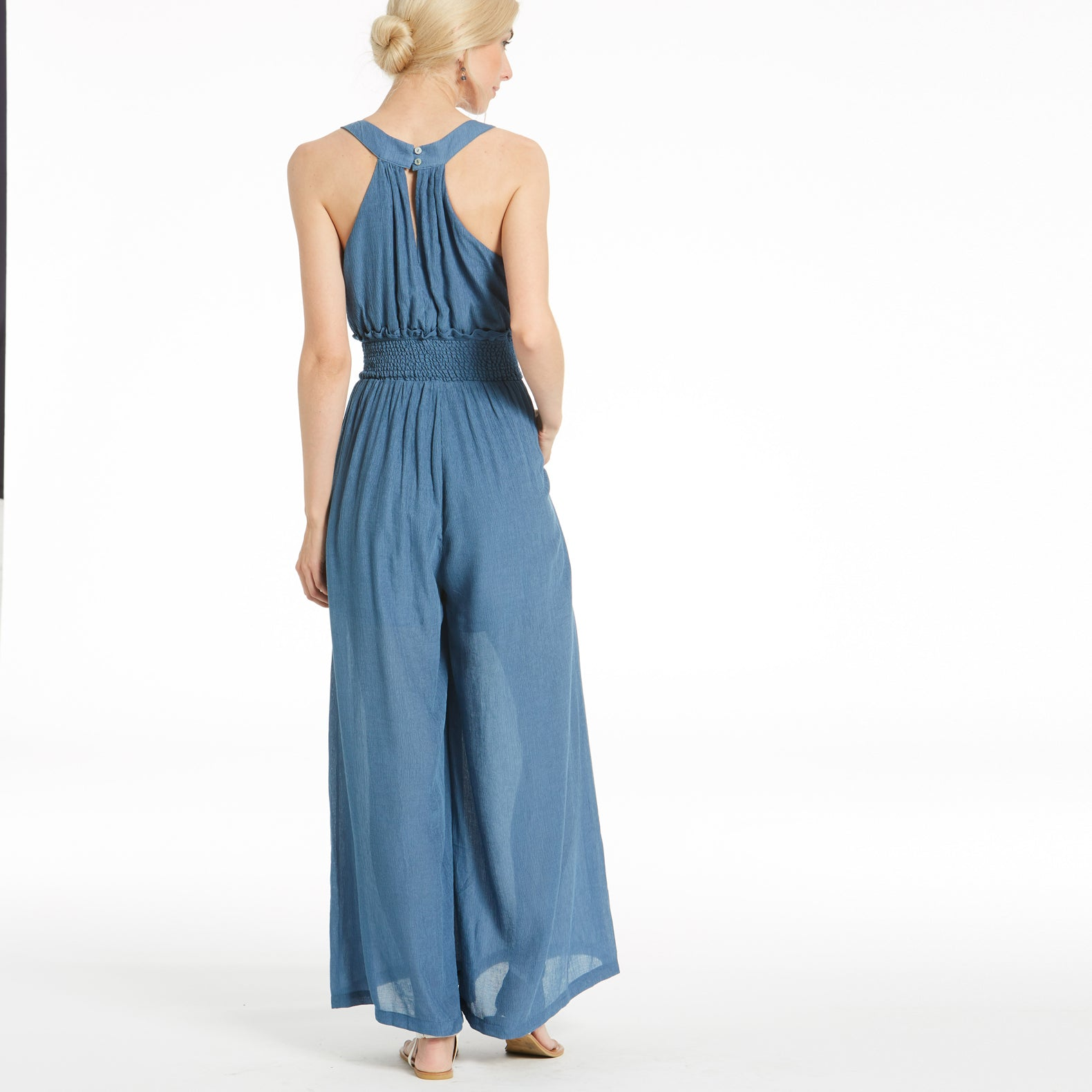 Blue Ocean Breeze Jumpsuit - Love, Kuza