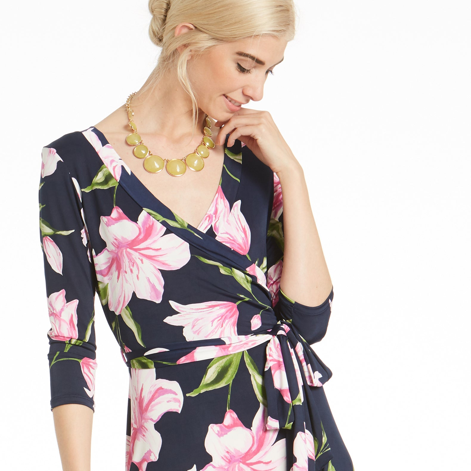 Tulip Delight Venechia Wrap Dress - Love, Kuza