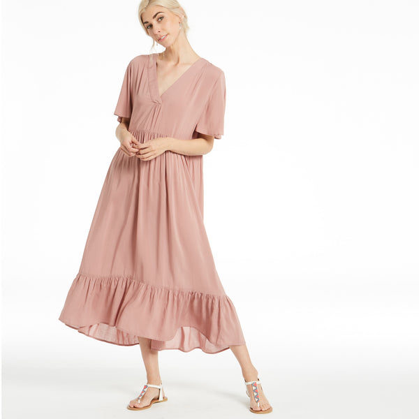 Free As The Wind Midi Dress - Love, Kuza