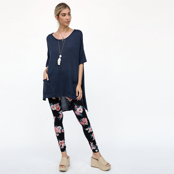 Comfy Oversize Knit Tunic