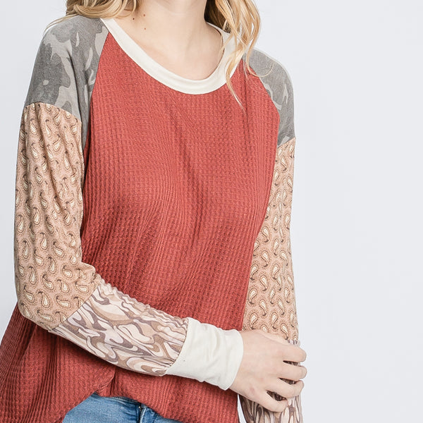 Terracotta Delight Top