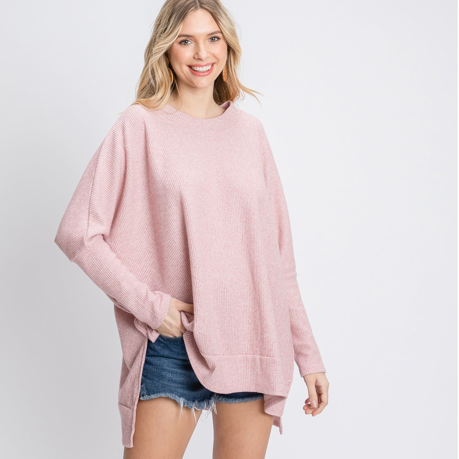 Boxy Comfort Thermal Top