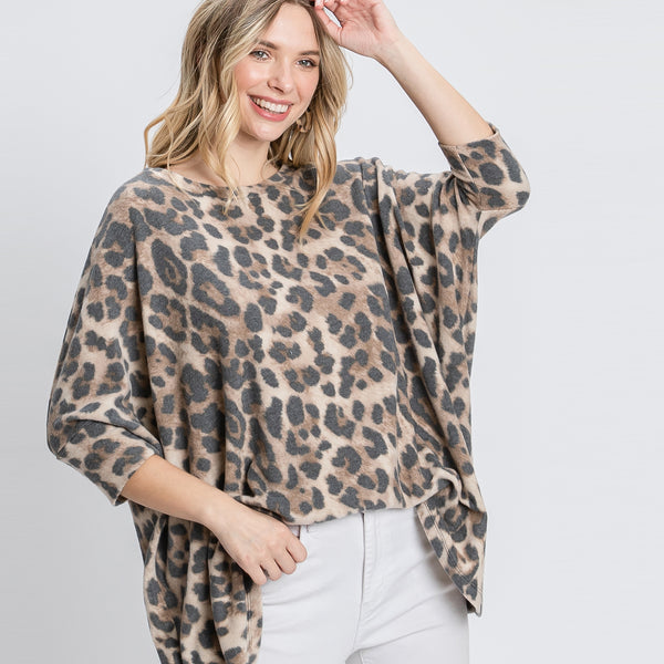 Wild Embrace Tunic Top