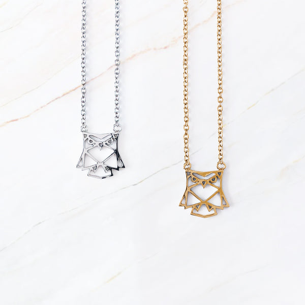 Origami Necklace - Love, Kuza