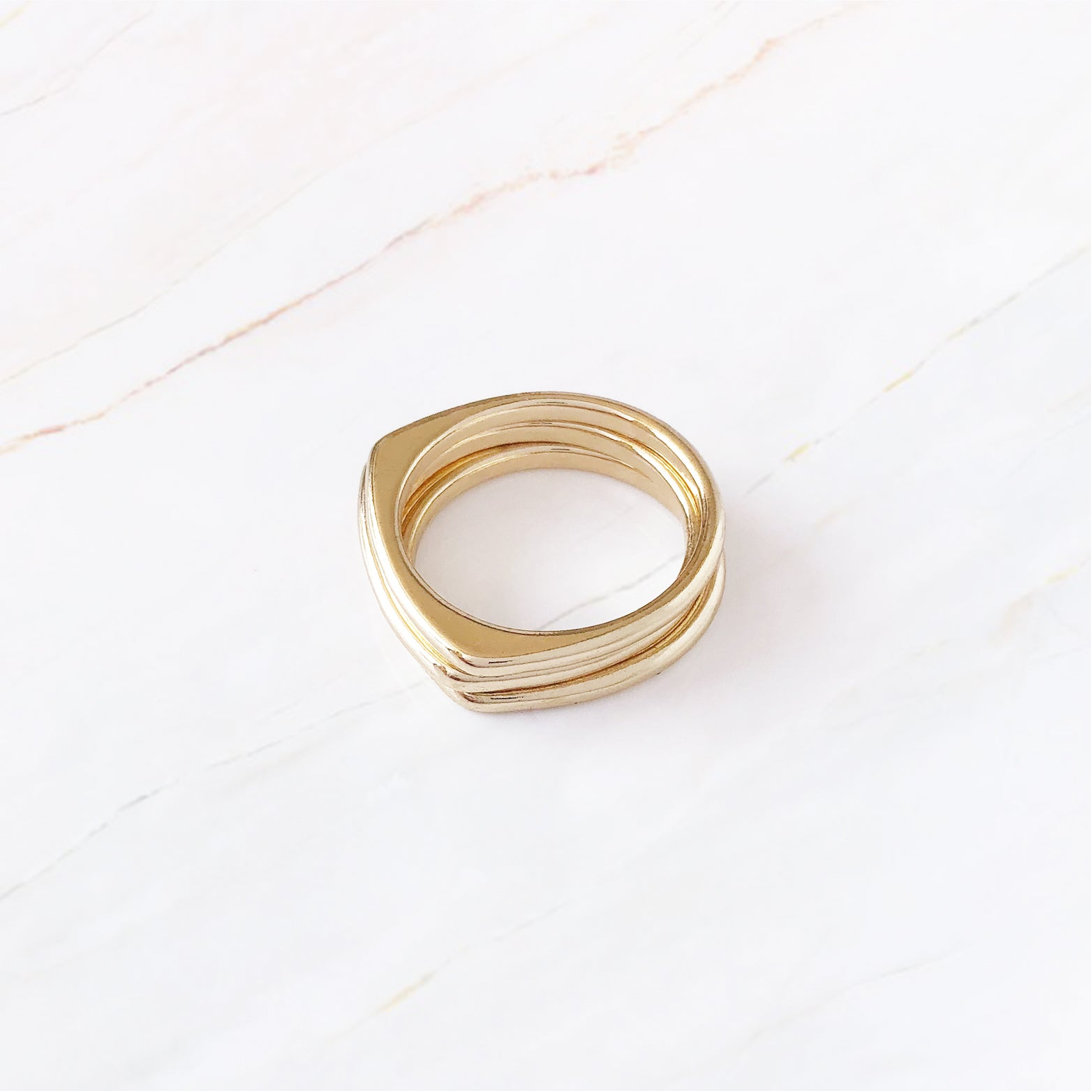 Mod Stacking Ring Set