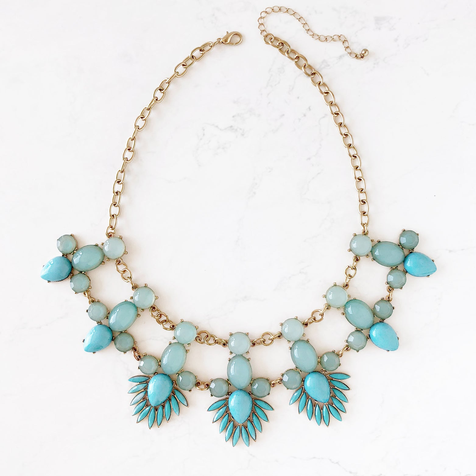 Vintage Tribal Statement Necklace