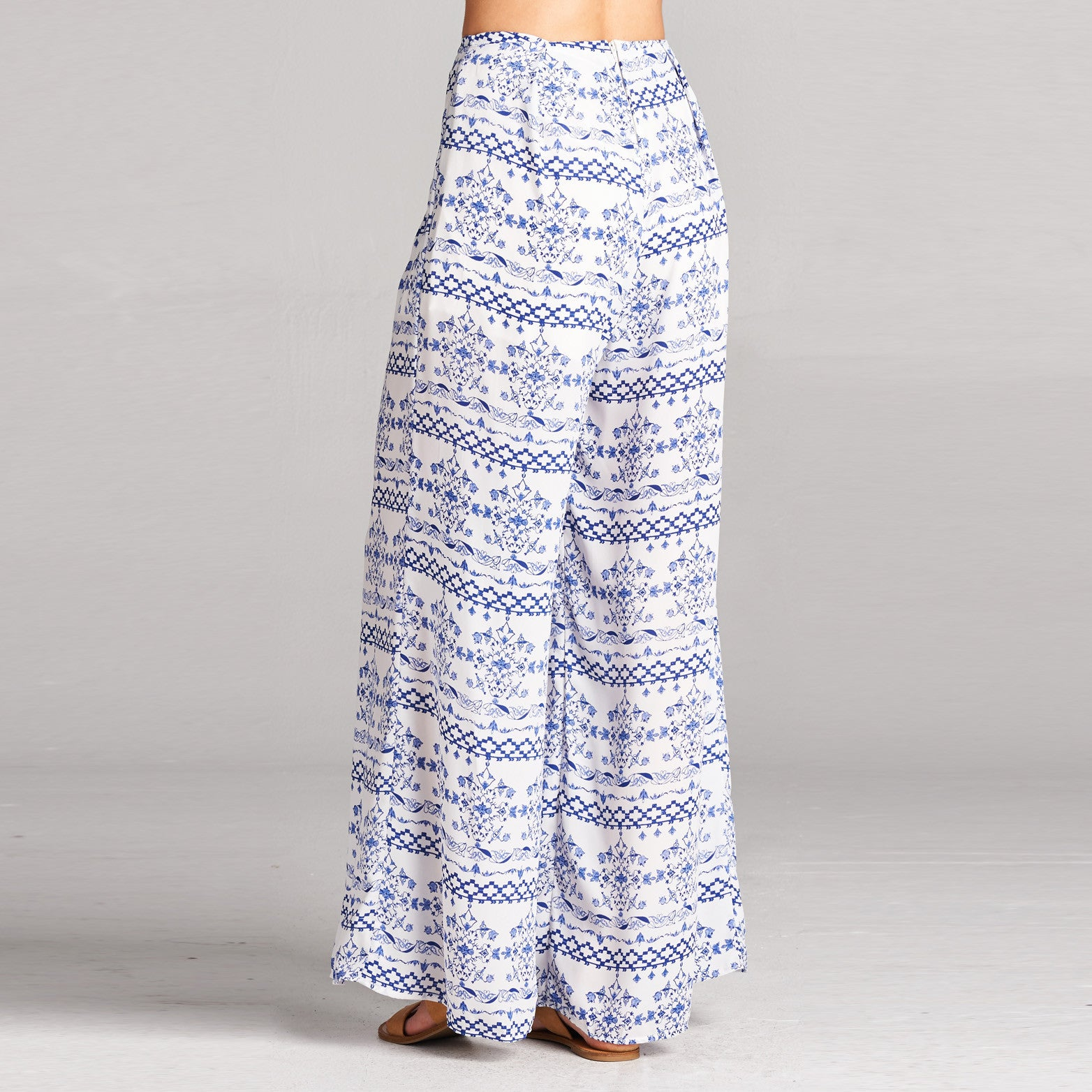 Santorini Wide Leg Pants - Love, Kuza